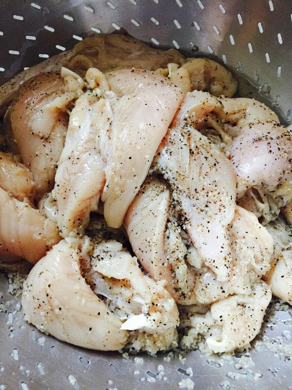 Juicy blackened chicken