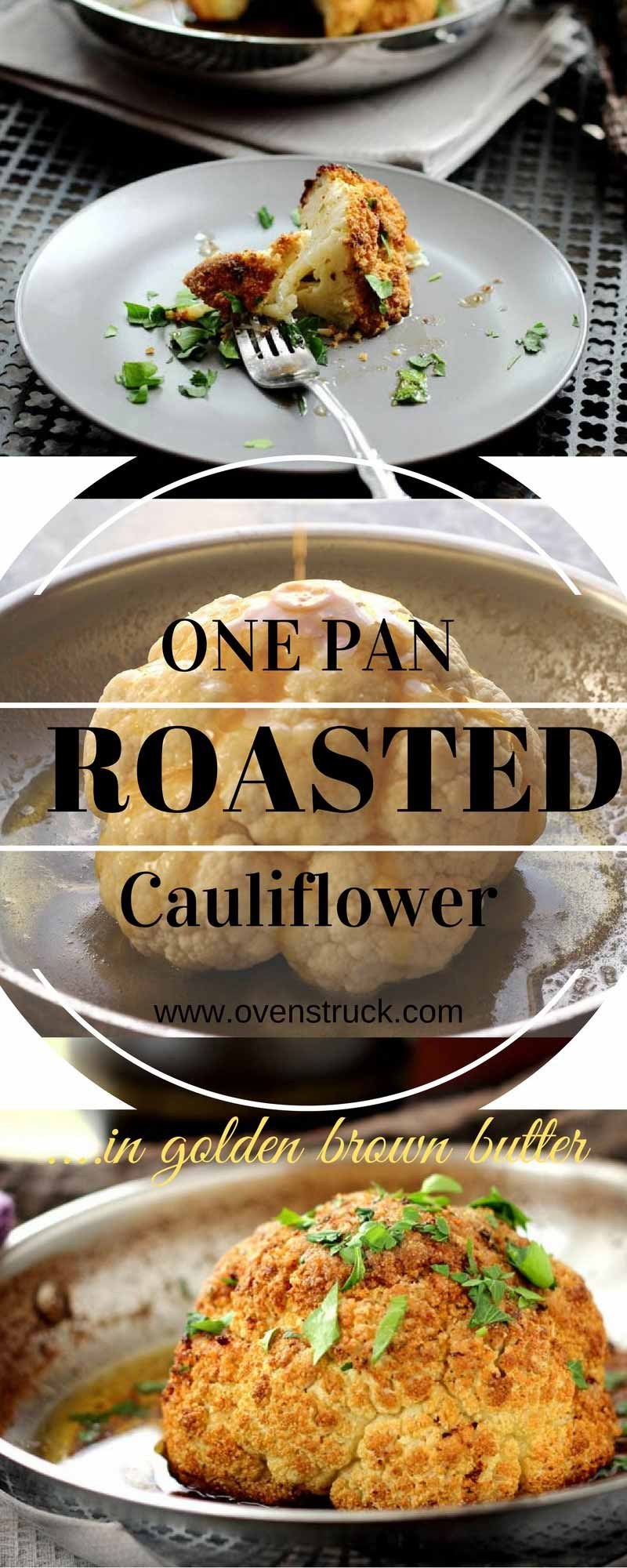 Golden Butter Roasted Cauliflower Velvety, Nutty and Simple