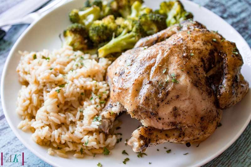 Slow Cooker Game Hen Chicken