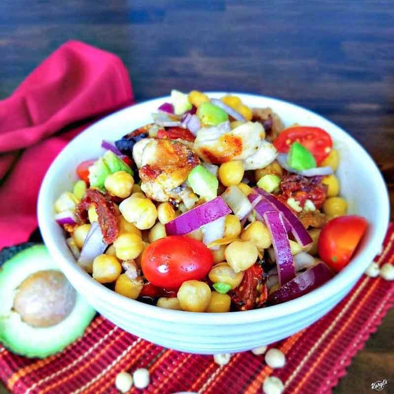 Chicken Chickpea Salad