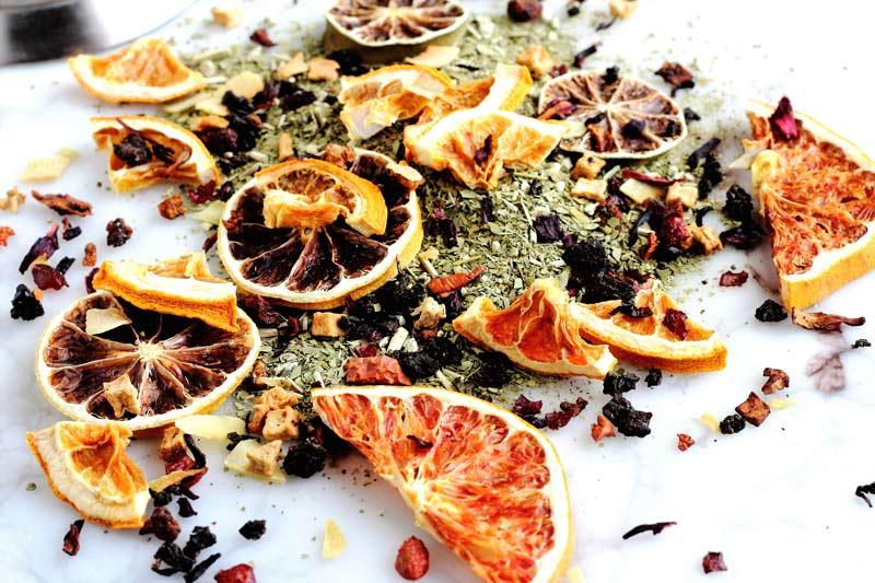 How To Make Fancy Tea Blends Plus: My Favorite Citrus Blend