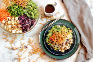 Easy Chinese Chopped Chicken Salad & Want it Wednesday #2