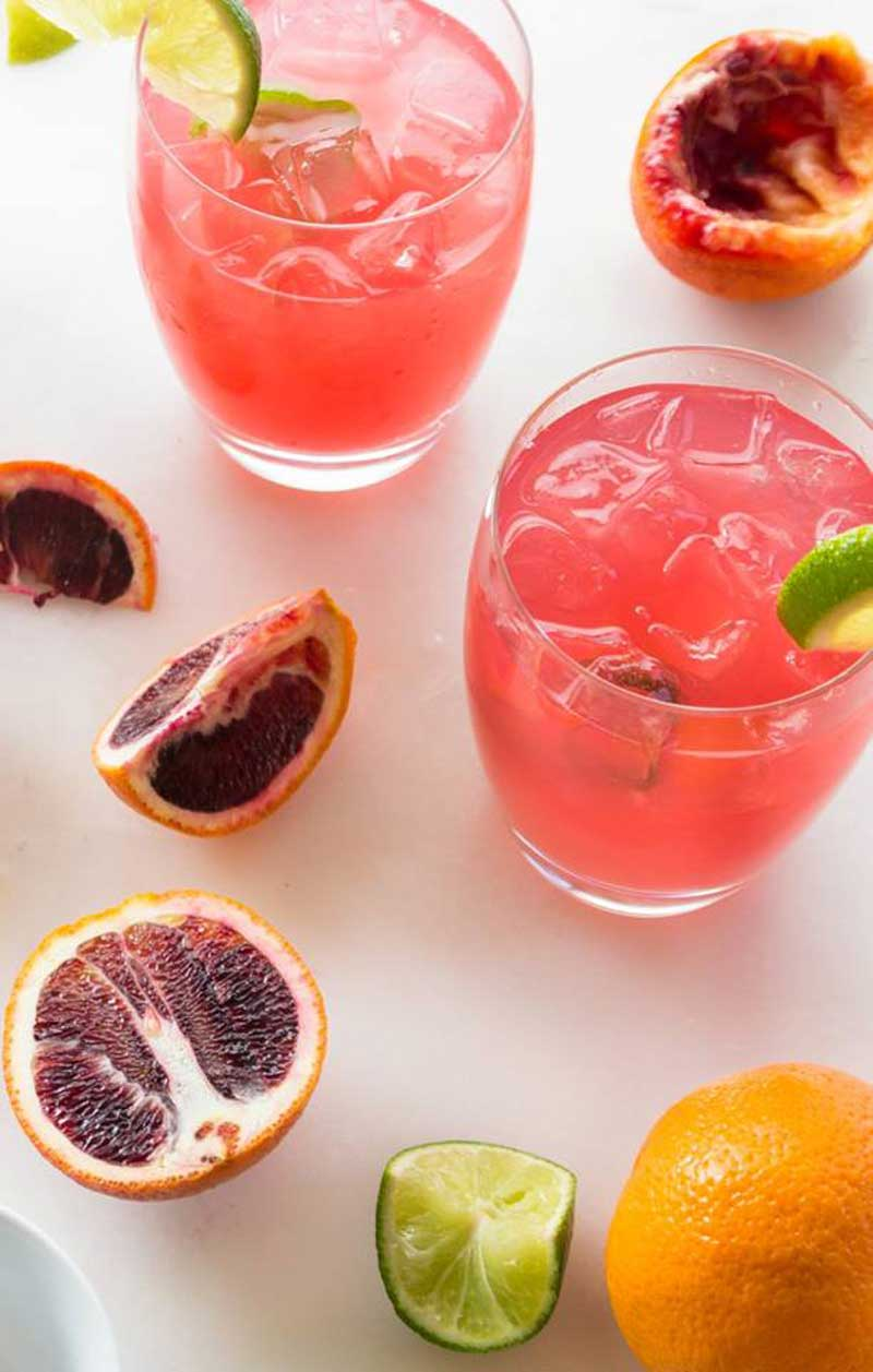 Blood orange palomas cinco de mayo recipes