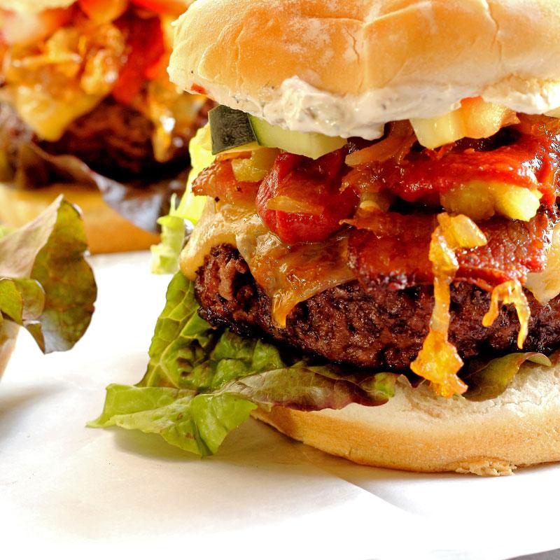 A Perfect Burger – Introducing The Gridiron Burger