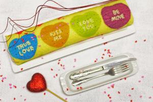Valentine's Day Swiss Roll Cake