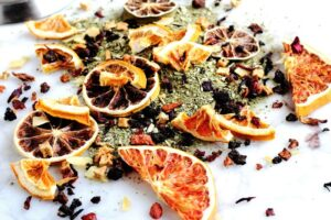 How To Make Fancy Tea Blends Plus: My Favorite Citrus Blend